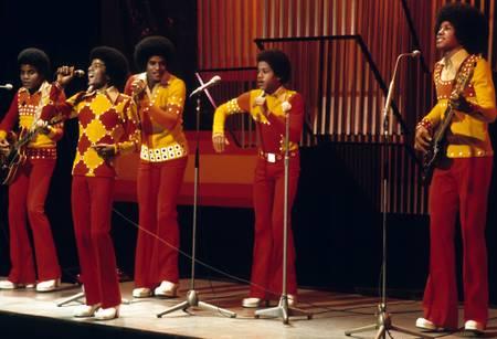 Les Jackson Five sur scène