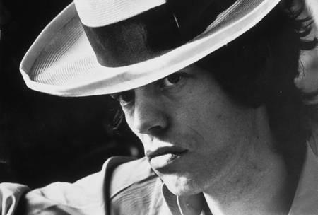 Mick Jagger - chapeau panama