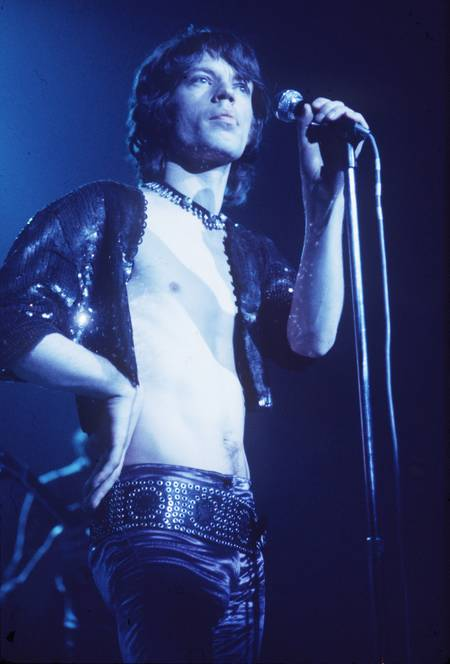 Mick Jagger and concert