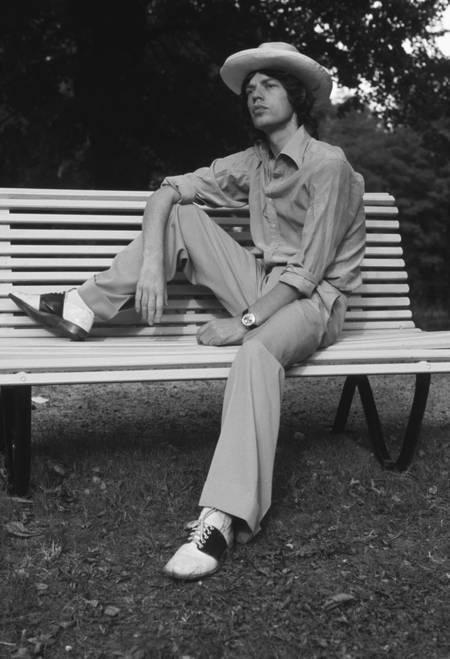 Mick Jagger en octobre 1973