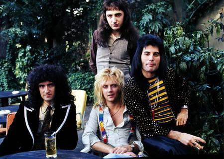 Queen en septembre 1976