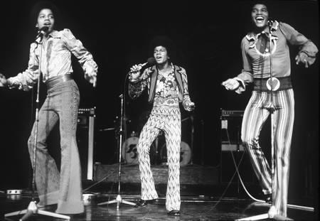 The Jackson Five sur scène
