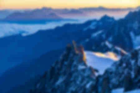 l'Aiguille du mid du Mont-Blanc