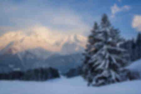 Mont Blanc al tramonto