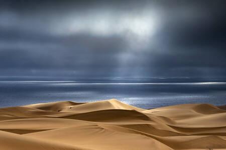 Dunes de Sandwich Harbour