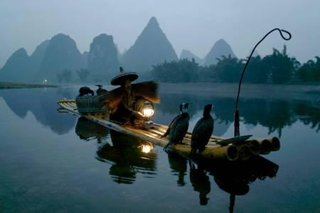 Pêcheur de Yangshuo