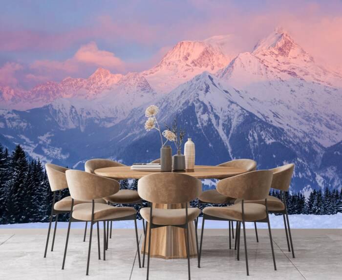 La montaña del Mont Blanc