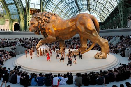 Défilé Chanel Hiver 2010-2011 au grand Palais