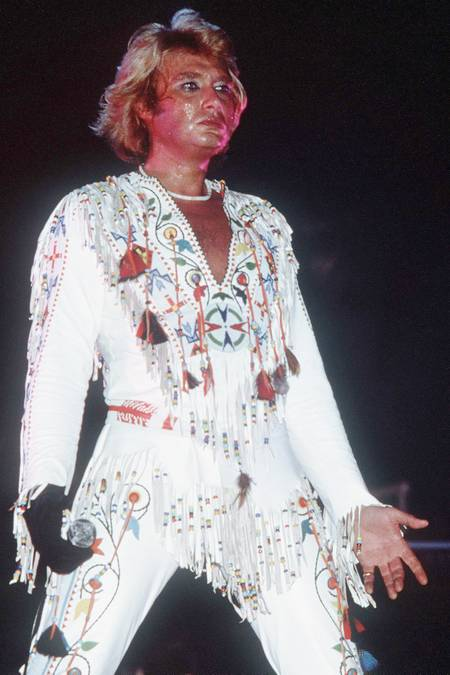 Johnny Hallyday Paris concert