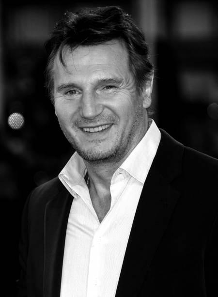 Liam Neeson a Cognac
