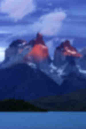 The massif Cuernos del Paine