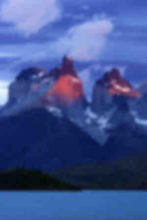 La massif Cuernos del Paine
