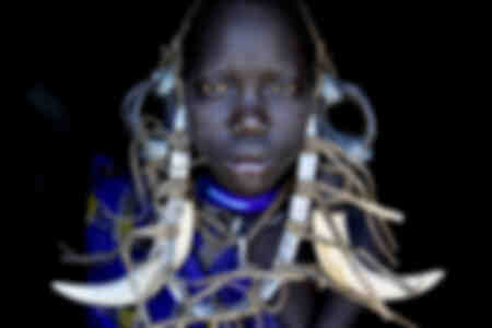 Mursi Stamm Äthiopien