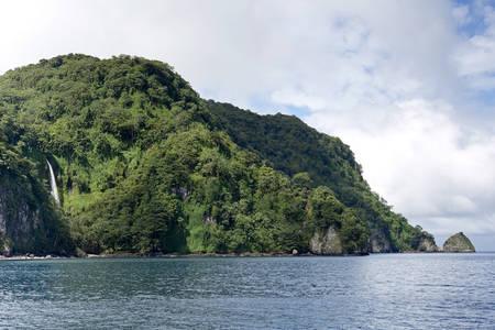 Cascade côtière