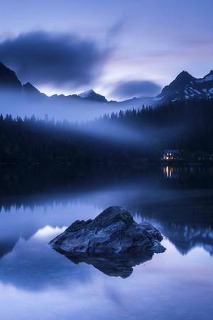 Fin de soirée dans les Tatras