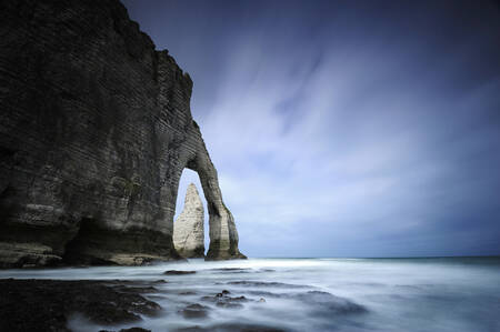 The Manneporte of Étretat