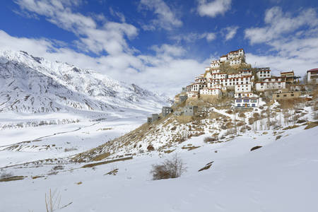 The Monastery of Key Gompa