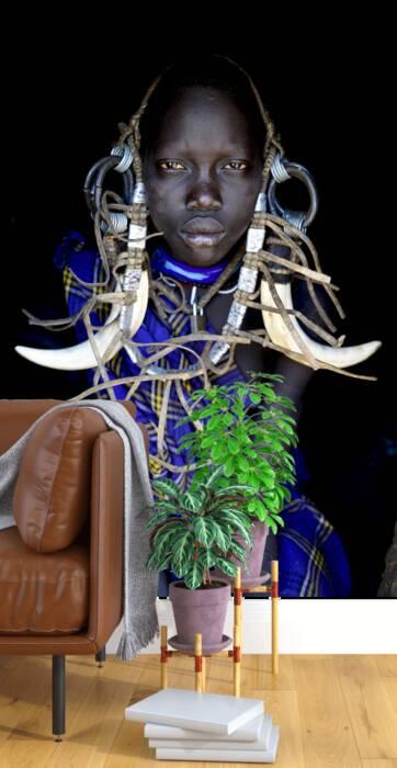 Hamer girl near Turmi- Ethiopia