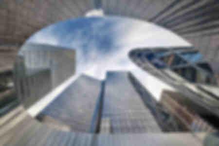 Im Herzen der Gebäude von La Défense