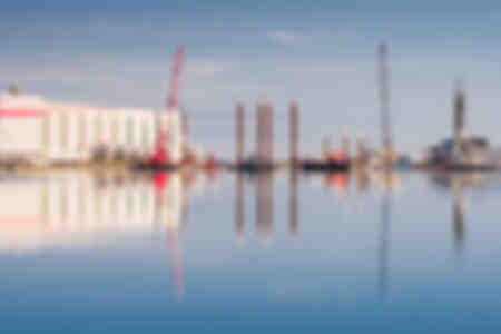 Saint Nazaire shipyard
