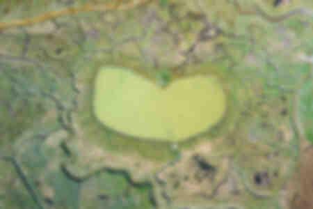 La hutte en forme de cœur en Baie de Somme