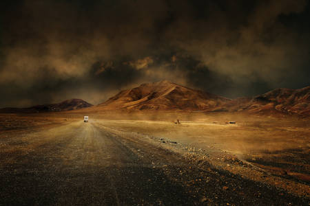 On trace la route y a plus rien à voir