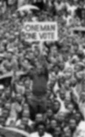 One Man One Vote in Salisbury Rhodesia 1977