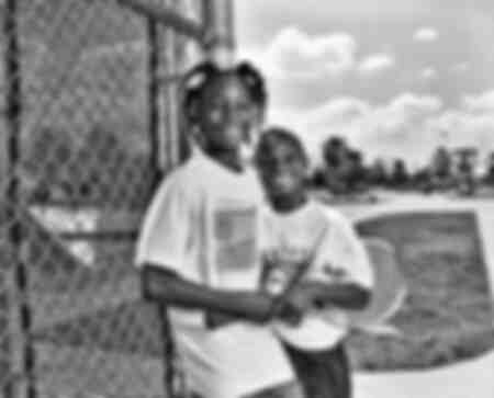 Venus Williams and Serena Williams 1991