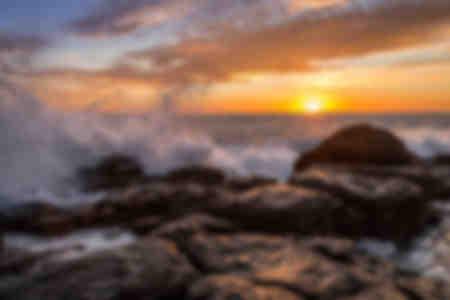 Plätschernde Wellen
