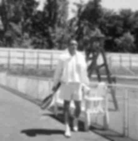 Anthony Quinn a tennis