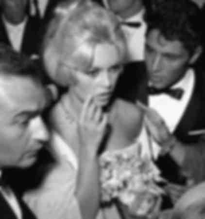Brigitte Bardot et  Sacha Distel