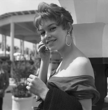 BB in der Mostra von Venedig 1958
