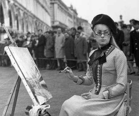Catherine Deneuve film Venise 1968