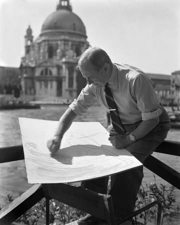 Joan Miro' Venise  1948