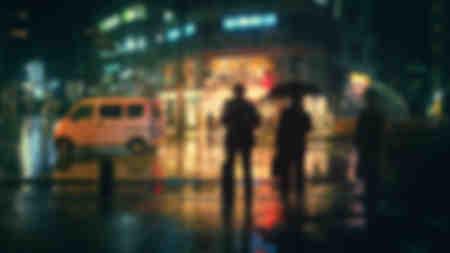 Ciudad Nocturna Tokio 2
