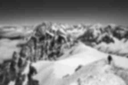 Hikers - Aiguille du Midi - Chamonix Mont Blanc