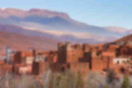 Dades Valley - Marokko