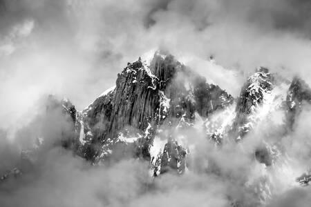 Die Alpen - Aiguille du Midi Mont Blanc