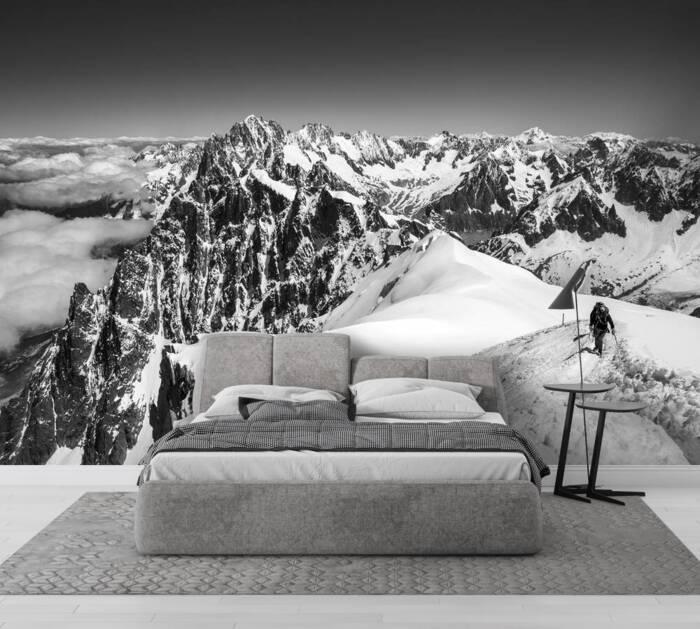 Excursionistas - Aiguille du Midi - Chamonix Mont Blanc