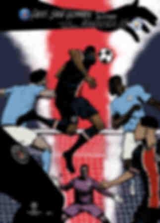 Affiche Paris Saint-Germain - Manchester City
