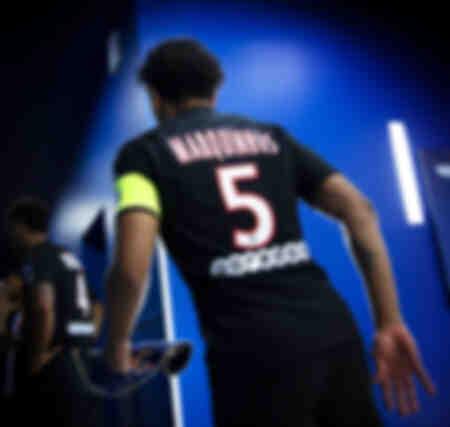 Pre-match - Kapitein Marquinhos