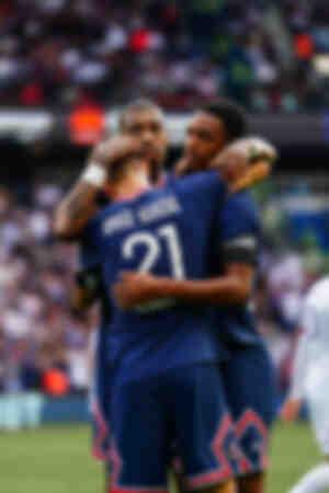 Célébration - But d'Herrera face à Clermont