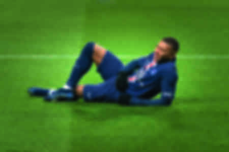 Celebration of Kylian Mbappé against FC Nantes