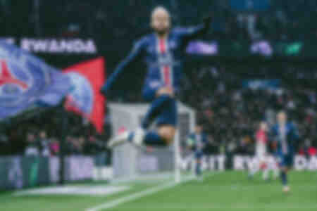 Celebration - Neymar Jr against Monaco