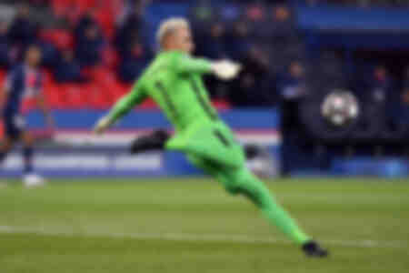 Keylor Navas against Bayern Munich
