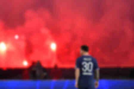 Lionel Messi face à Lyon