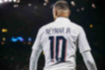 Neymar Jr. während Dortmund - Paris Saint-Germain