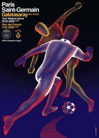 Affiche du match Paris - Galatasaray