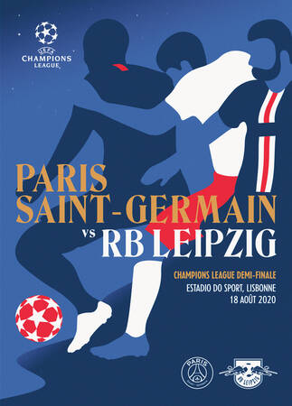 Affiche du match RB Leipzig - Paris Saint-Germain