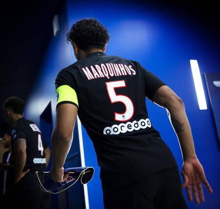 Avant-match - Capitaine Marquinhos